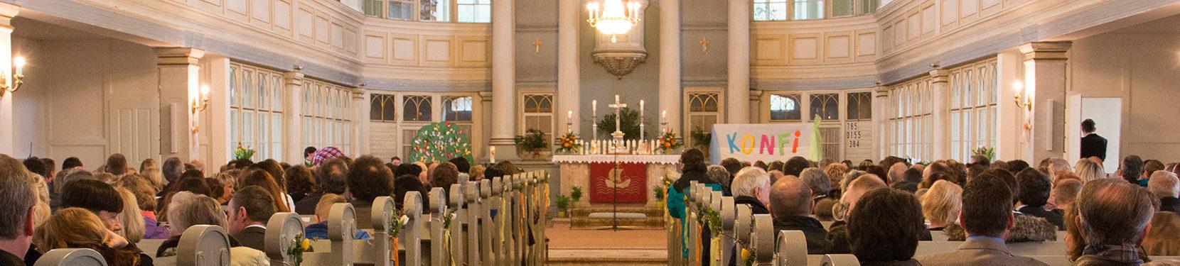 Kontaktdaten der Kirchgemeinden
