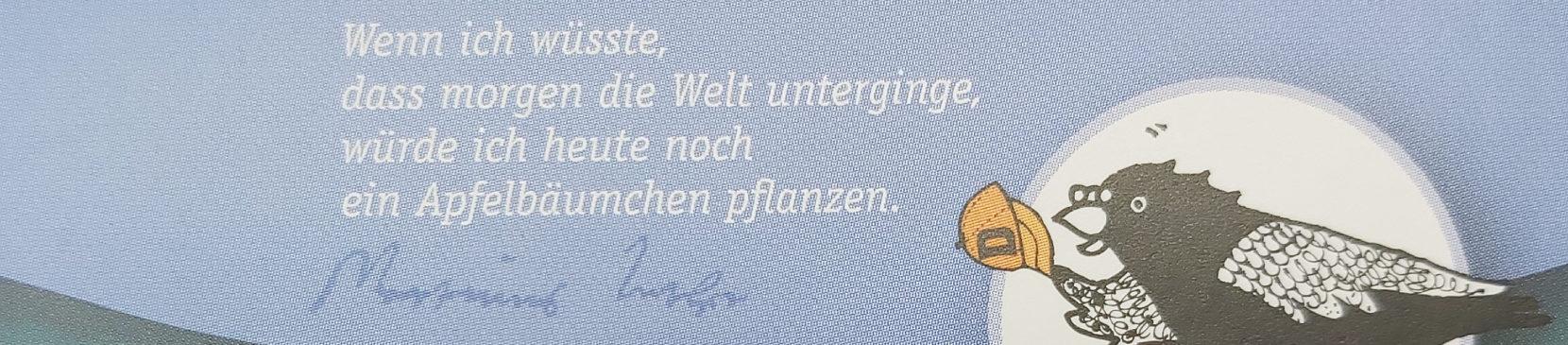 """Luther-Wanderausstellung """"Mensch Martin – Hut ab!"""""""
