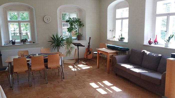 Gebetsraum des Gebetshauses Mittelsachsen