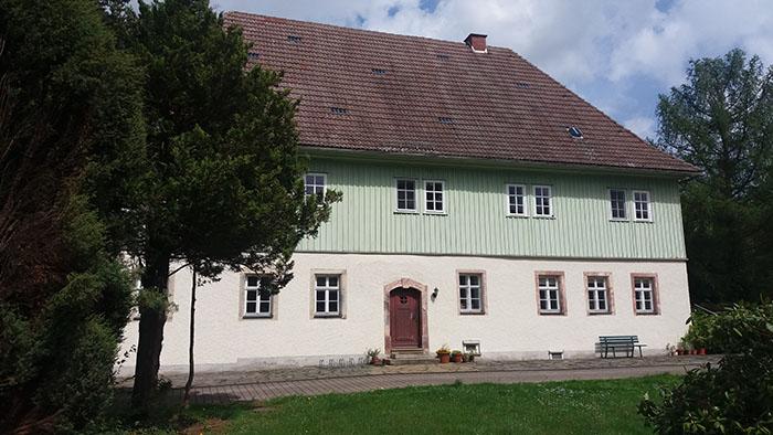 Gebetshaus Mittelsachsen Pfarrhaus in Pappendorf