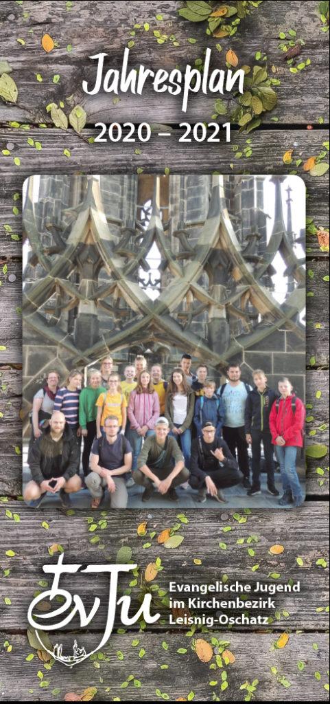 Jahresplan der Evangelischen Jugend Leisnig-Oschatz 2020/2021 - Titelseite