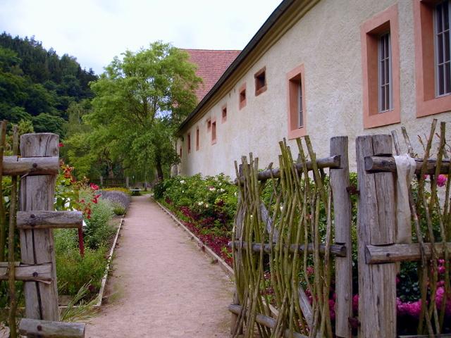 Kloster Buch Klostergarten