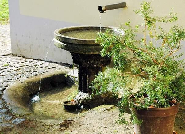 Kloster Sornzig Brunnen