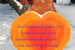 Plakat Fastenkalender 2021