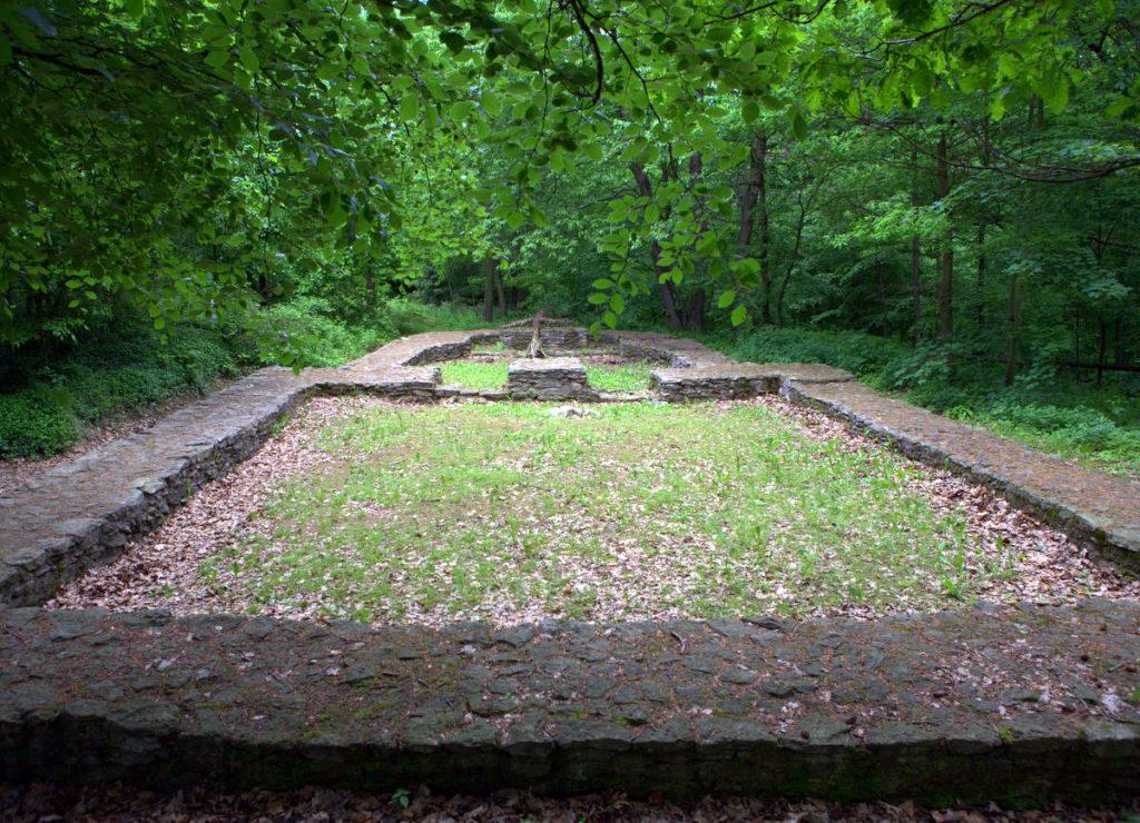 Wermsdorfer Wald - Wüstung Nennewitz