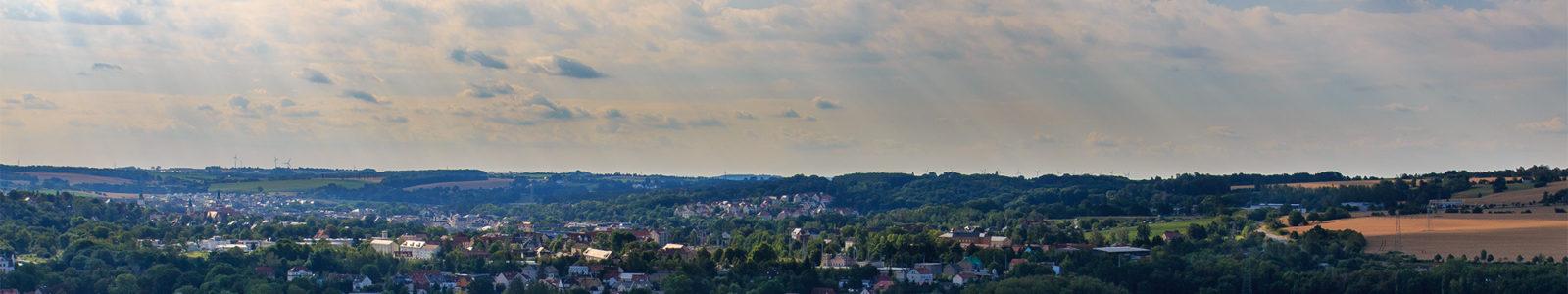 Slider Ausblick auf die Stadt Döbeln